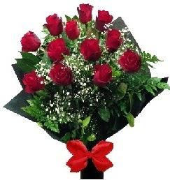 11 adet kırmızı gülden buket  Gölbaşı anneler günü çiçek yolla