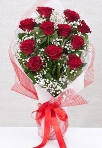 11 kırmızı gülden buket çiçeği  Ankara Gölbaşındaki çiçekçiler ankara çiçek satışı