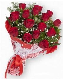 11 kırmızı gülden buket  çiçek siparişi Gölbaşı çiçekçiler