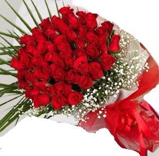 51 adet kırmızı gül buketi  Gölbaşı çiçek gönder cicekciler , cicek siparisi