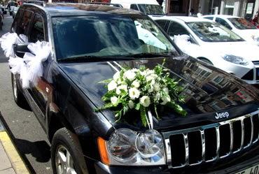 Ankara düğün arabası süslemesi  Gölbaşı çiçek yolla , çiçek gönder , çiçekçi