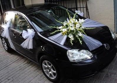 Ankara düğün gelin arabası süslemesi  Gölbaşı çiçekçiler  çiçek siparişi sitesi