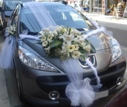Araba süsü süslemesi  Gölbaşı anneler günü çiçek yolla
