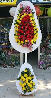 Düğün nikah açılış Çiçeği Çift katlı sepet  Gölbaşı çiçek siparişi yurtiçi ve yurtdışı çiçek siparişi
