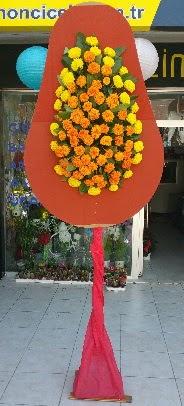 Tek katlı düğün nikah açılış çiçeği  Ankara çiçekçi Gölbaşı İnternetten çiçek siparişi