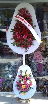 Çift katlı düğün nikah çiçeği  Gölbaşı çiçekçiler  çiçek siparişi sitesi