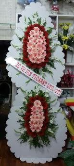 Çift katlı düğün nikah açılış çiçeği  Gölbaşı çiçek gönder cicekciler , cicek siparisi