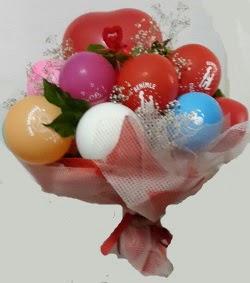 Benimle Evlenirmisin balon buketi  Gölbaşı çiçekçi telefonları