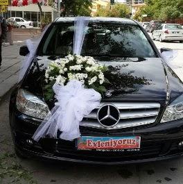 Gelin arabası süslemesi  Gölbaşı Ankara çiçek yolla