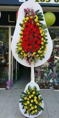Çift katlı düğün çiçekleri  Gölbaşı çiçekçi güvenli kaliteli hızlı çiçek
