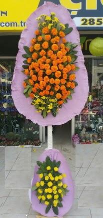 Gölbaşı Ankara çiçek yolla  Çift katlı düğün nikah çiçeği