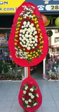 Ankara Gölbaşındaki çiçekçiler ankara çiçek satışı  Çift katlı düğün nikah çiçeği  Gölbaşı çiçekçi telefonları