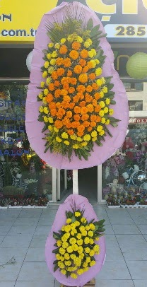 Ankara Gölbaşı çiçek gönderme  Düğün nikah açılış çiftli çiçeği