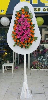 Tek katlı düğün nikah açılış çiçeği  Gölbaşı çiçekçi güvenli kaliteli hızlı çiçek