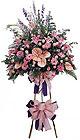 çiçek siparişi Gölbaşı çiçekçiler   Ferforje Pembe kazablanka