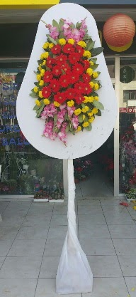Tek katlı düğün nikah açılış çiçeği  Ankara Gölbaşı çiçek siparişi vermek