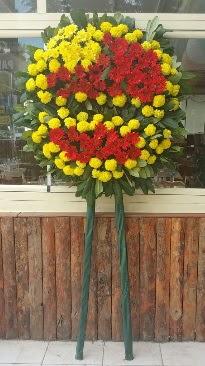 Cenaze çelengi çiçek modeli  Gölbaşı çiçekçiler  çiçek siparişi sitesi