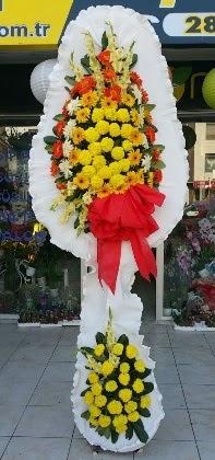 Çift katlı düğün nikah açılış çiçeği  çiçek siparişi Gölbaşı çiçekçiler