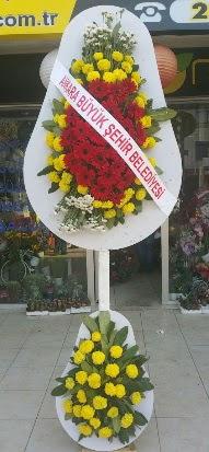 Çift katlı düğün nikah açılış çiçek modeli  Gölbaşı çiçek kaliteli taze ve ucuz çiçekler