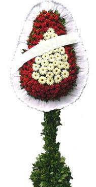 Çift katlı düğün nikah açılış çiçek modeli  Ankaradaki çiçekçiler Gölbaşı cicek , cicekci