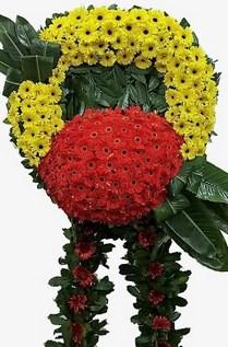 Görsel cenaze çiçeği  Gölbaşı çiçekçi güvenli kaliteli hızlı çiçek