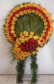 Cenaze çiçek modeli  Gölbaşı çiçekçiler  çiçek siparişi sitesi