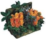 Gölbaşı çiçek yolla , çiçek gönder , çiçekçi   Oranj kaliteli bir gül sandigi