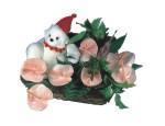 Gölbaşı ankara çiçek gönderme sitemiz güvenlidir  Sepette  oyuncakli antoryumlar