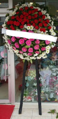 Cenaze çiçek modeli  Gölbaşı çiçek yolla , çiçek gönder , çiçekçi