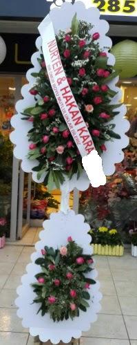 Güllü düğün nikah açılış çiçek modeli  Ankara Gölbaşı hediye sevgilime hediye çiçek