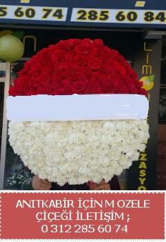 Anıtkabir için mozele çiçeği çelengi  Gölbaşı anneler günü çiçek yolla
