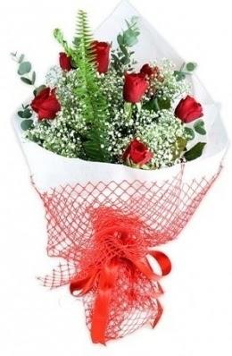 7 adet gülden kız arkadaşıma çiçek  Gölbaşı anneler günü çiçek yolla
