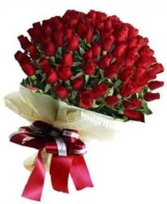 Kız isteme söz nişan çiçeği buketi 41 güllü  Ankara Gölbaşı 14 şubat sevgililer günü çiçek