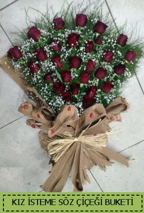 Kız isteme söz nişan çiçek buketi  Gölbaşı anneler günü çiçek yolla