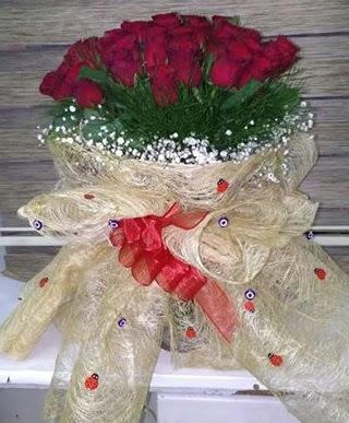 41 adet kırmızı gülden kız isteme buketi  Gölbaşı çiçek siparişi yurtiçi ve yurtdışı çiçek siparişi