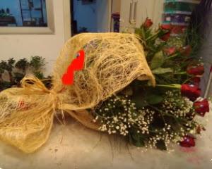 21 adet kırmızı gül kız isteme buketi  Ankara Gölbaşı 14 şubat sevgililer günü çiçek