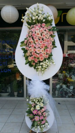 Çift katlı özel şahane sepet çiçeği  Gölbaşı anneler günü çiçek yolla