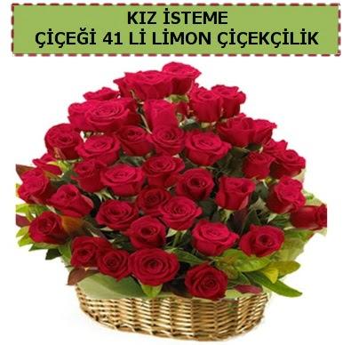 41 Adet gül kız isteme çiçeği modeli  Gölbaşı anneler günü çiçek yolla