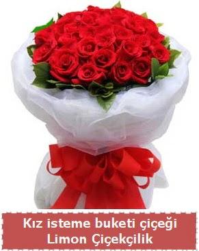 Kız isteme çiçeği buketi 29 kırmızı gül  Gölbaşı anneler günü çiçek yolla