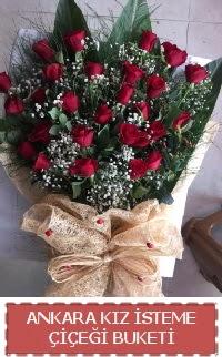 Kız isteme çiçeği kız isteme buket modeli  Gölbaşı çiçek yolla , çiçek gönder , çiçekçi