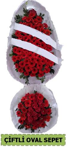 Çift katlı oval düğün nikah açılış çiçeği  Gölbaşı çiçek gönder cicekciler , cicek siparisi