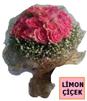 Pembe gül kız isteme söz nişan çiçeği  Ankara Gölbaşı 14 şubat sevgililer günü çiçek