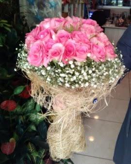 33 adet pembe gül nişan kız isteme buketi  Gölbaşı çiçek gönder cicekciler , cicek siparisi