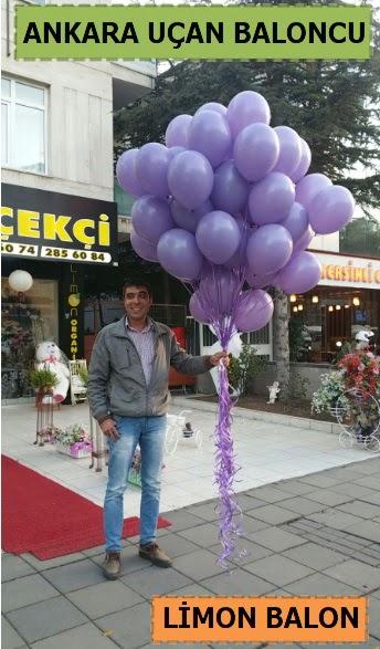 Ankara 50 adet istenilen renkte uçan balon  Gölbaşı ankara çiçek servisi , çiçekçi adresleri