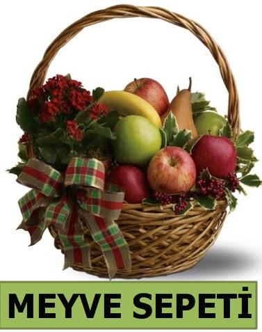 Karışık mevsim meyve sepeti  Ankara Gölbaşı hediye sevgilime hediye çiçek