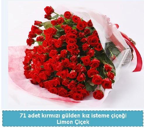41 adet kırmızı gül kız isteme buketi  Gölbaşı anneler günü çiçek yolla