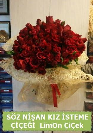 51 adet güllü Söz nişan kız isteme çiçeği  Gölbaşı ankara çiçek servisi , çiçekçi adresleri