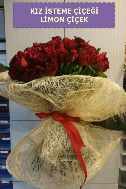 41 adet güllü Söz nişan kız isteme çiçeği  Ankara Gölbaşı 14 şubat sevgililer günü çiçek