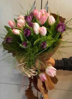 20 adet lale buketi çiçeği  ankara Gölbaşı çiçek mağazası , çiçekçi adresleri