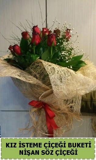 19 adet gülden kız isteme nişan çiçeği  Gölbaşı çiçek siparişi yurtiçi ve yurtdışı çiçek siparişi